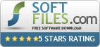 Awarded 5 stars on soft-files.com